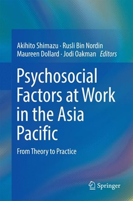 Abbildung von Shimazu / Bin Nordin | Psychosocial Factors at Work in the Asia Pacific | 1. Auflage | 2016 | beck-shop.de