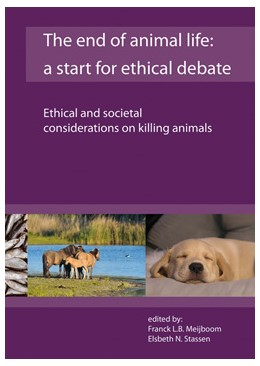 Abbildung von Meijboom / Stassen | The end of animal life: a start for ethical debate | 1 | 2016 | Ethical and societal considera...