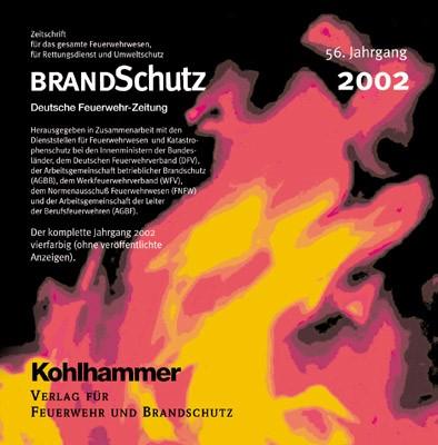 BRANDSchutz 2002 auf CD-ROM | 56. Jahrgang, 2003 (Cover)