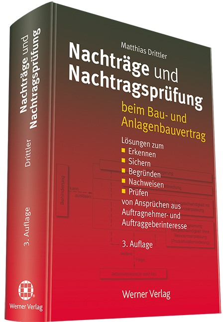 Nachträge und Nachtragsprüfung | Drittler | 3. Auflage, 2016 | Buch (Cover)