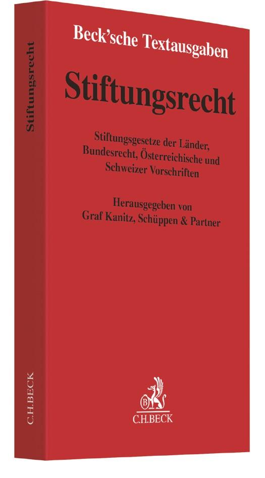Stiftungsrecht, 2016 | Buch (Cover)