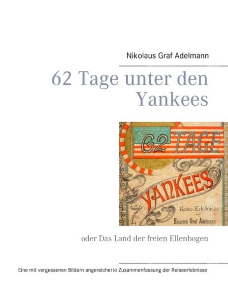 62 Tage unter den Yankees | Adelmann, 2016 | Buch (Cover)