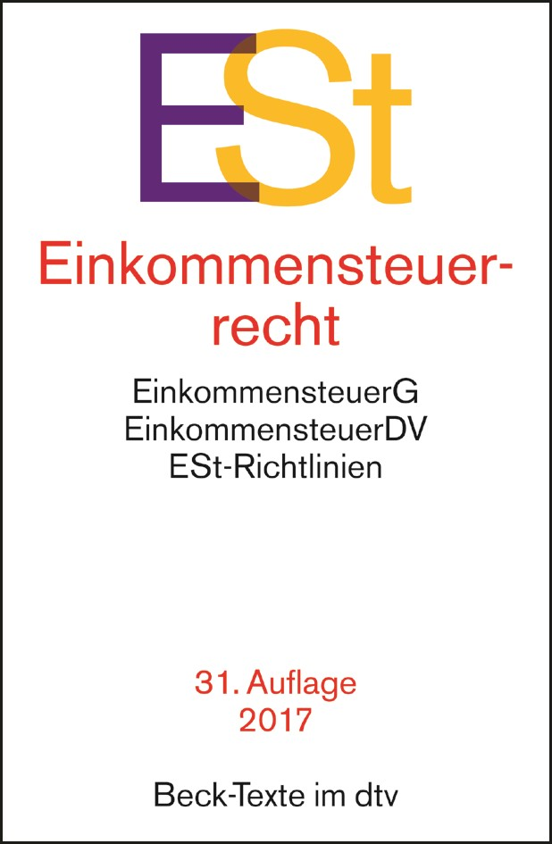Einkommensteuerrecht: ESt | Buch (Cover)