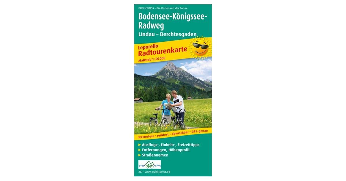 Bodensee Konigssee Radweg 1 50 000 3 Auflage 2016 Beck Shop De