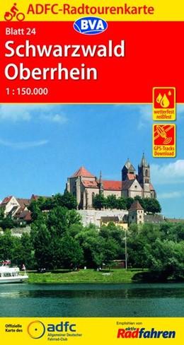 Abbildung von ADFC-Radtourenkarte 24 Schwarzwald / Oberrhein 1 : 150 000 | 12. Auflage | 2016