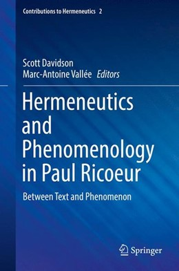 Abbildung von Davidson / Vallée | Hermeneutics and Phenomenology in Paul Ricoeur | 1. Auflage | 2016 | beck-shop.de