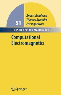Abbildung von Bondeson / Rylander / Ingelström | Computational Electromagnetics | 2005 | 51