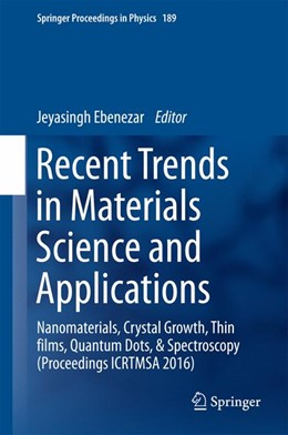 Abbildung von Ebenezar | Recent Trends in Materials Science and Applications | 1. Auflage | 2017 | 189 | beck-shop.de