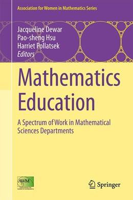 Abbildung von Dewar / Hsu / Pollatsek | Mathematics Education | 1st ed. 2016 | 2016 | A Spectrum of Work in Mathemat... | 7