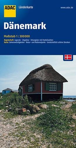 Abbildung von ADAC LänderKarte Dänemark 1 : 300 000 | 5. Auflage | 2016 | Registerheft: Legende, Cityplä...