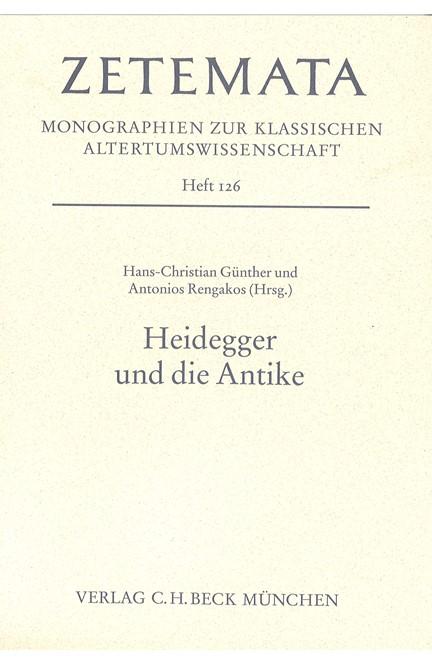Cover: , Heidegger und die Antike