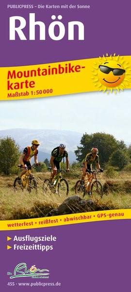 Mountainbikekarte Rhön 1 : 50 000 | 5.  Auflage, 2016 (Cover)