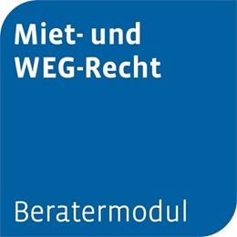 Abbildung von Beratermodul Otto Schmidt Miet- und WEG-Recht   1. Auflage     beck-shop.de