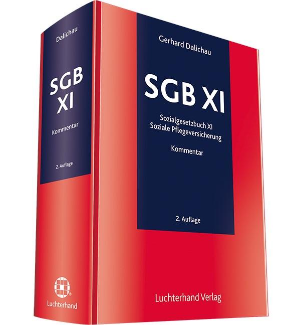 SGB XI   Dalichau (Hrsg.)   2. Auflage, 2017   Buch (Cover)