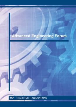 Abbildung von Advanced Engineering Forum Vol. 17 | 2016 | Volume 17