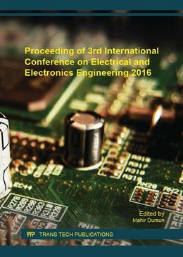 Abbildung von Dursun   Proceeding of 3rd International Conference on Electrical and Electronics Engineering 2016   1. Auflage   2016   Volume 850   beck-shop.de