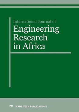 Abbildung von International Journal of Engineering Research in Africa Vol. 25 | 1. Auflage | 2016 | Volume 25 | beck-shop.de