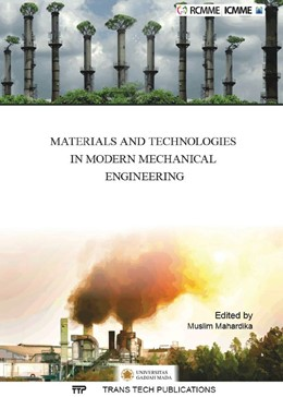 Abbildung von Mahardika | Materials and Technologies in Modern Mechanical Engineering | 1. Auflage | 2016 | Volume 842 | beck-shop.de