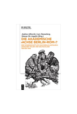 Abbildung von Albrecht / Danneberg / De Angelis | Die akademische