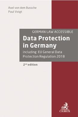 Abbildung von von dem Bussche / Voigt | Data Protection in Germany | 2. Auflage | 2017 | beck-shop.de