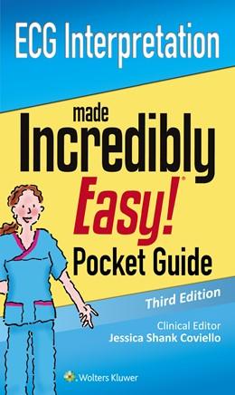 Abbildung von LWW | ECG Interpretation: An Incredibly Easy Pocket Guide | 3. Auflage | 2016 | beck-shop.de