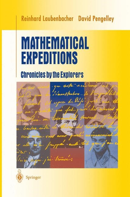 Abbildung von Laubenbacher / Pengelley | Mathematical Expeditions | 1998