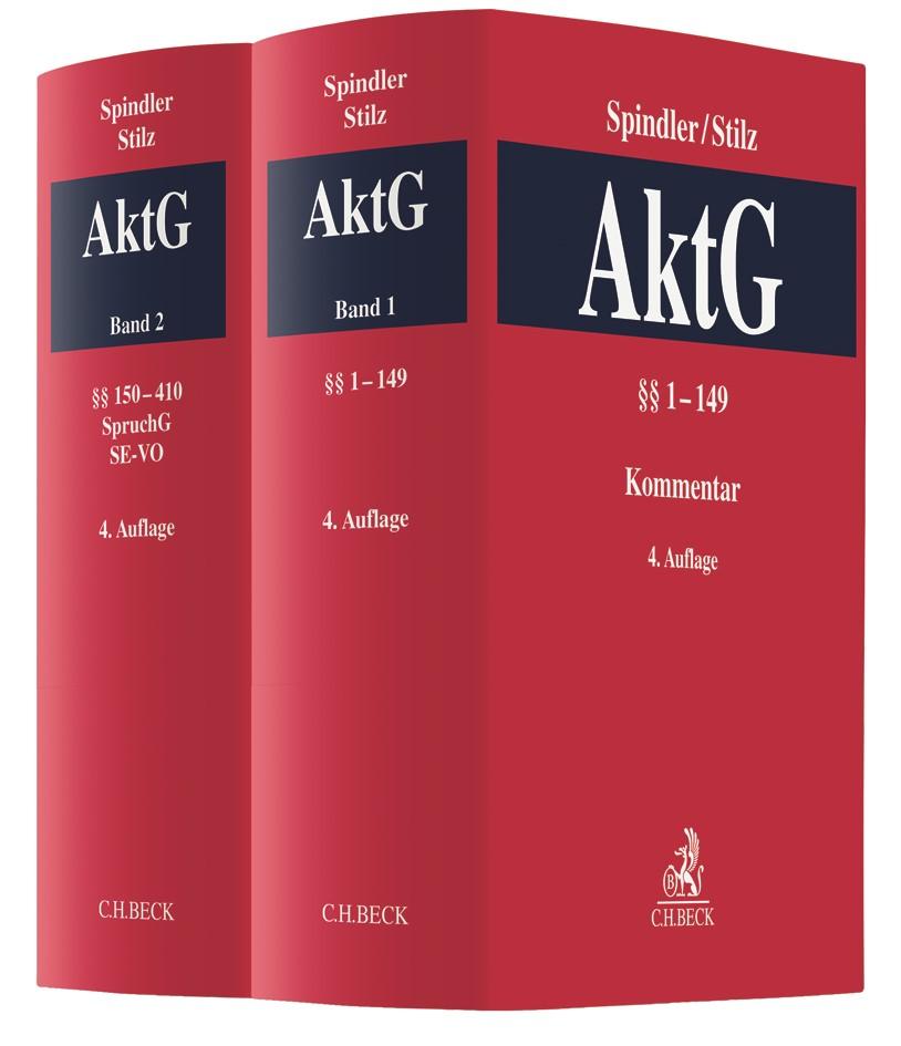 Kommentar zum Aktiengesetz: AktG | Spindler / Stilz | 4. Auflage, 2018 | Buch (Cover)