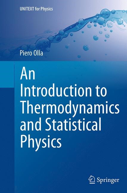 An Introduction to Thermodynamics and Statistical Physics | Olla | Softcover reprint of the original 1st ed. 2015, 2016 | Buch (Cover)