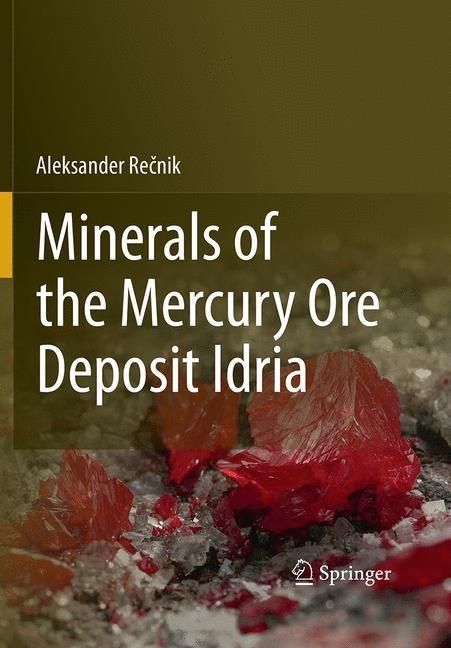 Abbildung von Recnik   Minerals of the mercury ore deposit Idria   Softcover reprint of the original 1st ed. 2013   2016