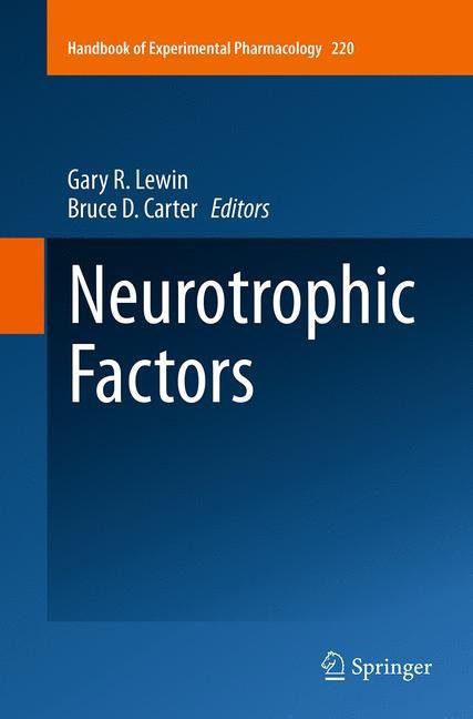 Abbildung von Lewin / Carter | Neurotrophic Factors | Softcover reprint of the original 1st ed. 2014 | 2016