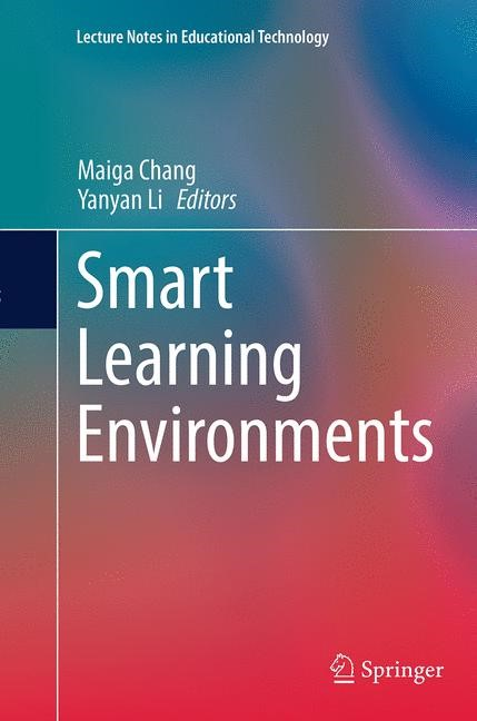 Abbildung von Chang / Li | Smart Learning Environments | Softcover reprint of the original 1st ed. 2015 | 2016