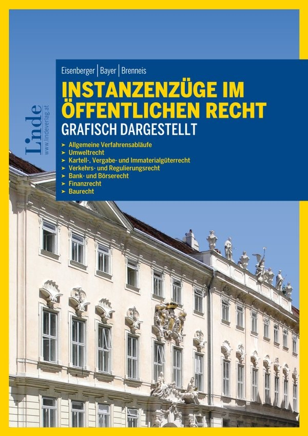 Abbildung von Eisenberger / Bayer / Brenneis | Instanzenzüge im öffentlichen Recht grafisch dargestellt | 1. Auflage 2016 | 2016