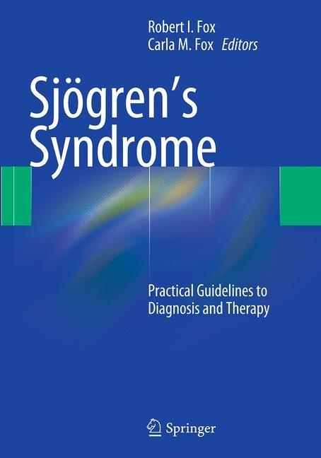 Abbildung von Fox | Sjögren's Syndrome | Softcover reprint of the original 1st ed. 2012 | 2016