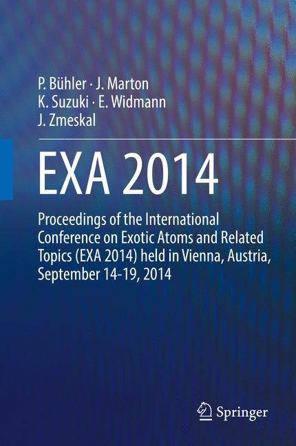 Abbildung von Bühler / Marton / Suzuki / Widmann / Zmeskal   EXA 2014   1st ed. 2017   2016