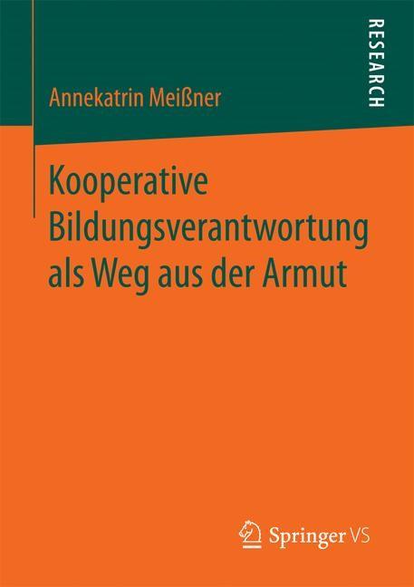 Abbildung von Meißner | Kooperative Bildungsverantwortung als Weg aus der Armut | 2016
