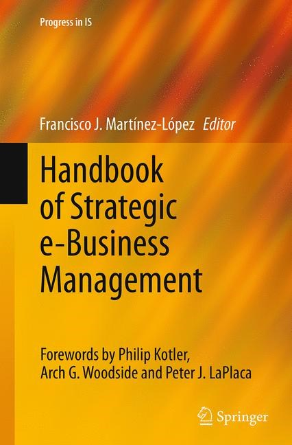 Abbildung von Martínez-López | Handbook of Strategic e-Business Management | Softcover reprint of the original 1st ed. 2014 | 2016