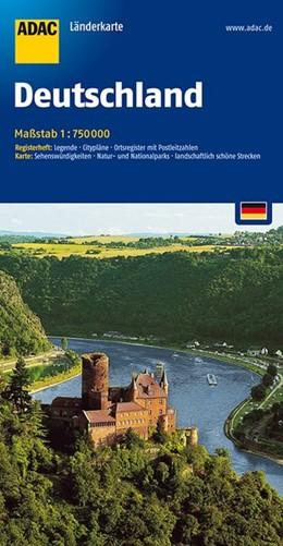 Abbildung von ADAC LänderKarte Deutschland 1 : 750 000 | 13. Auflage | 2016 | Register: Legende, Zufahrtskar...