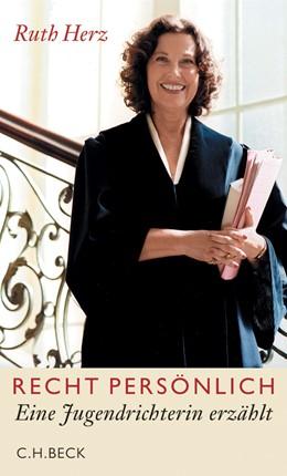 Abbildung von Herz, Ruth   Recht persönlich   1. Auflage   2006   beck-shop.de