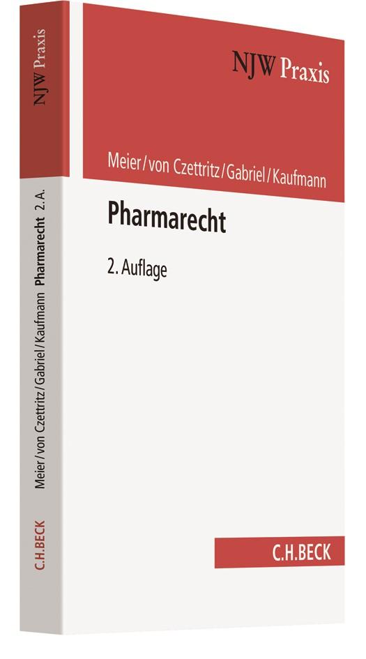 Pharmarecht | Meier / von Czettritz / Gabriel / Kaufmann | 2. Auflage, 2018 | Buch (Cover)