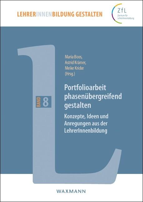 Portfolioarbeit phasenübergreifend gestalten | Boos / Krämer / Kricke, 2016 | Buch (Cover)