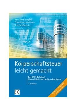 Abbildung von Warsönke   Körperschaftsteuer - leicht gemacht   3. Auflage   2016   beck-shop.de