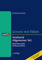 Strafrecht Allgemeiner Teil | Schwabe | 7. Auflage, 2016 | Buch (Cover)