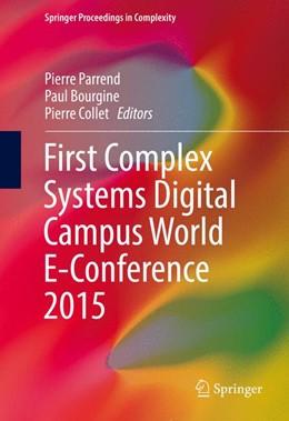 Abbildung von Parrend / Bourgine   First Complex Systems Digital Campus World E-Conference 2015   1. Auflage   2017   beck-shop.de