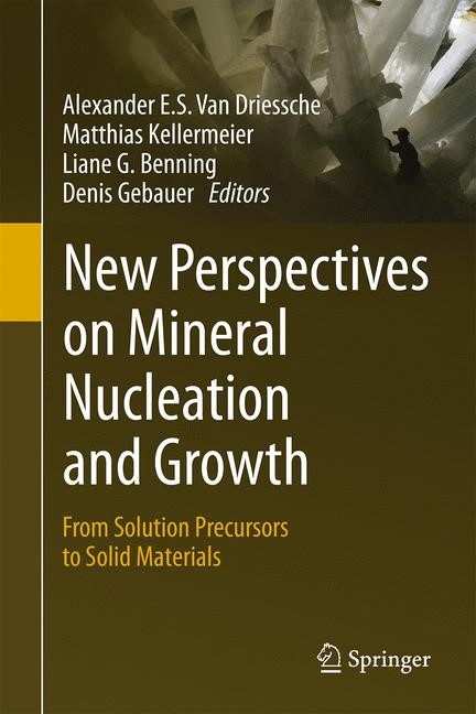 New Perspectives on Mineral Nucleation and Growth | Driessche / Kellermeier / Benning / Gebauer, 2017 | Buch (Cover)