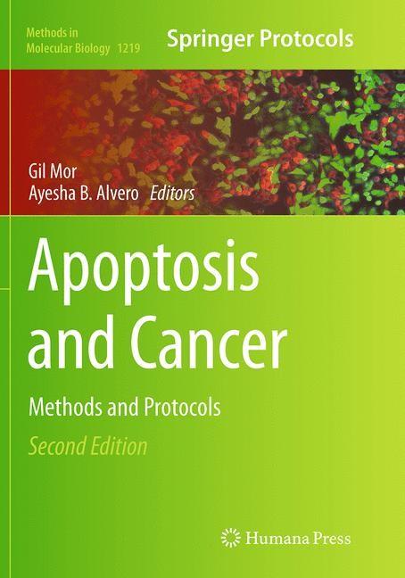 Abbildung von Mor / Alvero | Apoptosis and Cancer | Softcover reprint of the original 2nd ed. 2015 | 2016