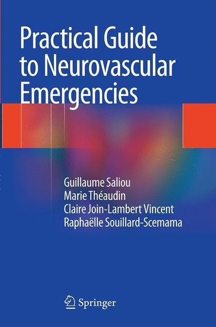 Abbildung von Saliou / Theaudin / Join-Lambert Vincent   Practical Guide to Neurovascular Emergencies   Softcover reprint of the original 1st ed. 2014   2016