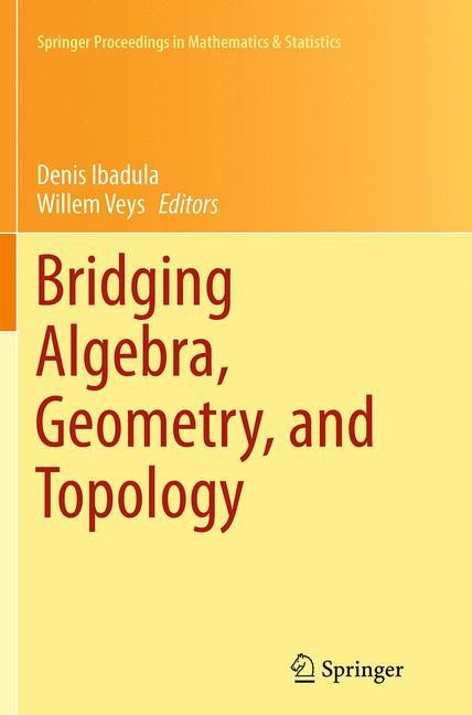 Abbildung von Ibadula / Veys   Bridging Algebra, Geometry, and Topology   Softcover reprint of the original 1st ed. 2014   2016