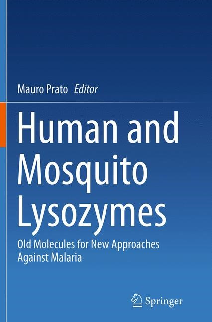 Abbildung von Prato | Human and Mosquito Lysozymes | Softcover reprint of the original 1st ed. 2015 | 2016