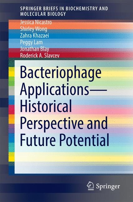 Abbildung von Nicastro / Wong / Khazaei | Bacteriophage Applications - Historical Perspective and Future Potential | 1st ed. 2016 | 2016