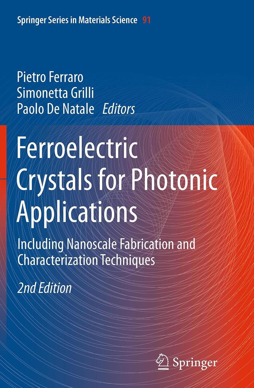 Abbildung von Ferraro / Grilli / De Natale | Ferroelectric Crystals for Photonic Applications | Softcover reprint of the original 2nd ed. 2014 | 2016